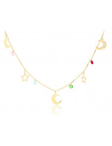 Collana donna Oro 375‰...
