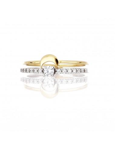 Anello doppio donna Oro 750...
